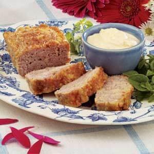 Ham Loaf with Horseradish Sauce