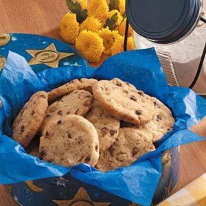 Chocolate Chip Icebox Cookies