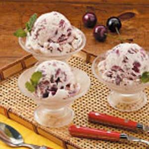 Cherry Cream Cheese Ice Cream