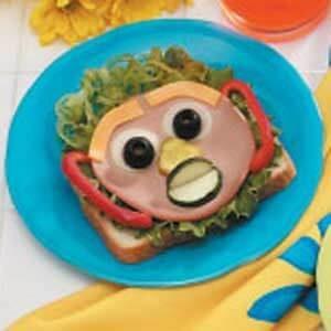 Self-Portrait Sandwiches