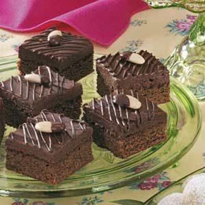 Cappuccino Truffle Brownies