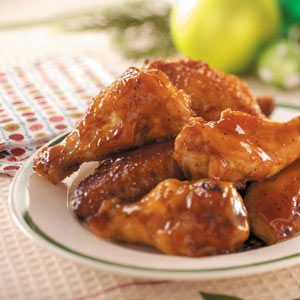Honey Barbecue Wings
