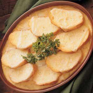 Swiss and Onion Casserole