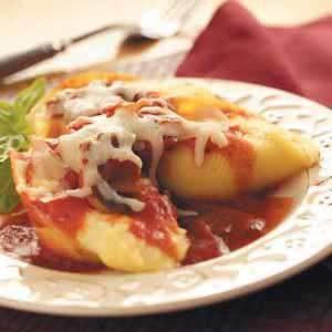 Italian Cheese-Stuffed Shells
