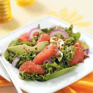 Sunny Grapefruit Avocado Salad