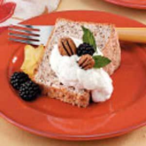 Pecan Angel Food Cake