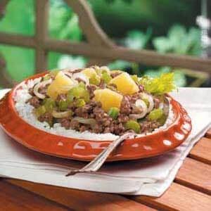 Hawaiian Beef Dish