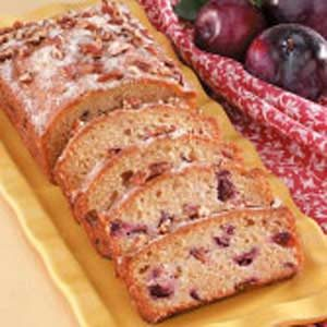 Fresh Plum Quick Bread