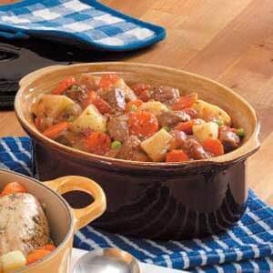 Winter Oven Beef Stew
