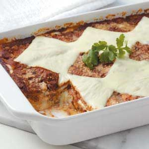Meatless Black Bean Lasagna