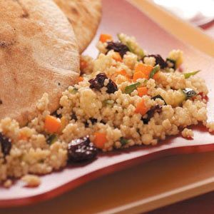 Couscous Salad with Dried Cherries