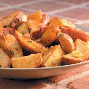 Roasted Cajun Potatoes