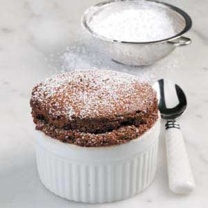 Inspired by the Chocolate Souffle Challenge