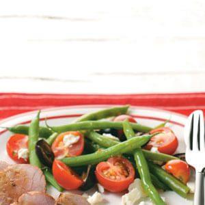 Tomato-Green Bean Salad