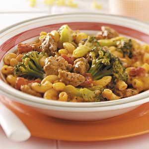 Sausage Macaroni Supper
