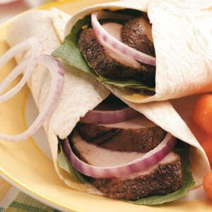 Tuscan Pork Wraps