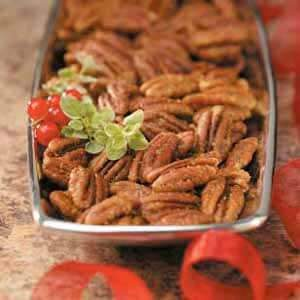 Curried Pecans