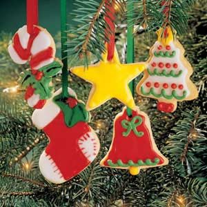 Christmas Cookie Ornaments Recipe | Taste of Home