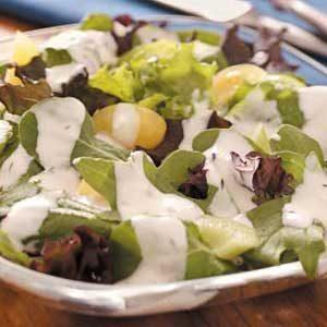 Homemade Honey-Mustard Salad Dressing