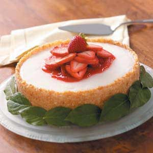 Lemon Sorbet Torte
