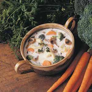 Sausage Broccoli Chowder