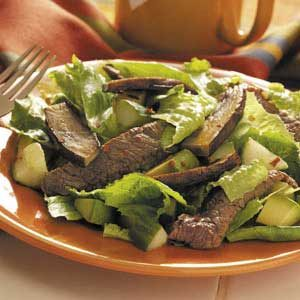 Spicy Teriyaki Beef Salad