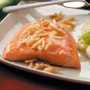 Nutty Salmon