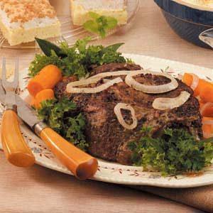 Caraway Pot Roast