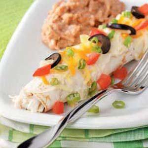 Seafood Enchiladas