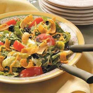 Romaine Salad with Avocado Dressing