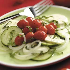 Grape Tomato Mozzarella Salad