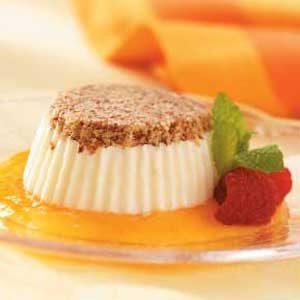 Frozen Almond-Cream Desserts