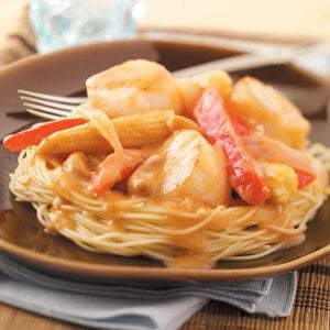 Scallops with Thai Sauce