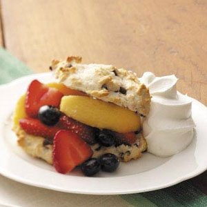 Three-Fruit Shortcakes