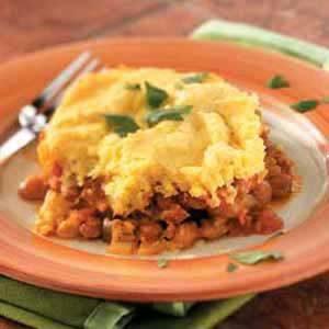 Tamale Veggie Pie