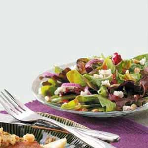 Tossed Salad with Pine Nuts