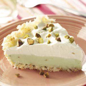 Coconut Pistachio Pie