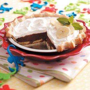 Banana Chocolate Cream Pie