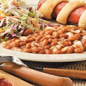Sidesaddle Pork 'n' Beans