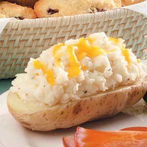 Speedy Stuffed Potatoes