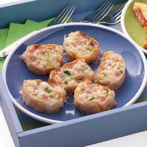 Crab 'n' Brie Strudel Slices