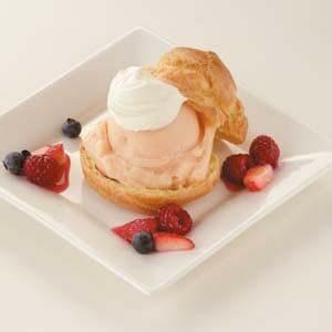 Sorbet Cream Puffs