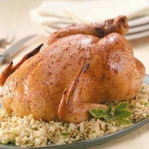 Honey-Lime Roasted Chicken