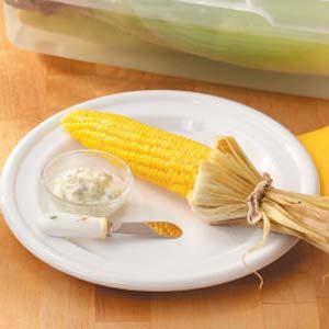 Grilled Marjoram Corn