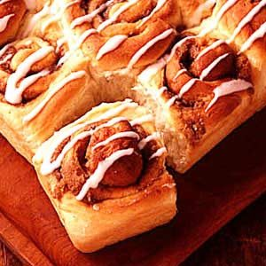 Cinnamon Potato Rolls