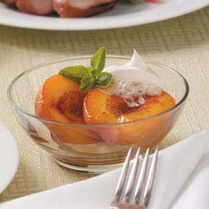 Broiled Fruit Dessert Recipe Taste Of Home