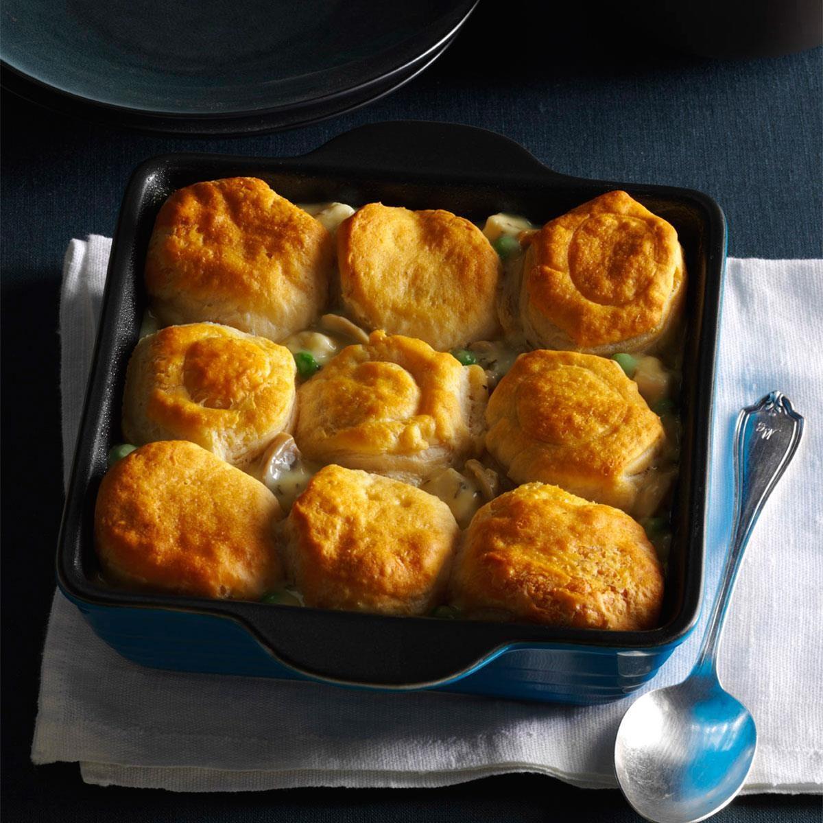 Biscuit Turkey Bake Recipe Taste Of Home