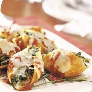 Four-Cheese Stuffed Shells