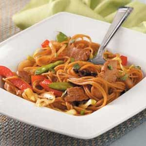 Chinese Pork 'n' Noodles