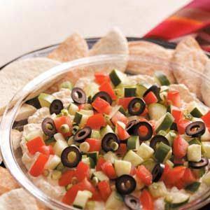 Greek Garden Appetizer